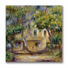 """""""The Farm at Les Collettes"""" by Pierre Renoir Painting Print on Canvas"""