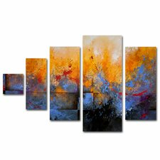 'My Sanctuary' by CH Studios 5 Piece Panel Art Set