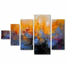 My Sanctuary by Cody Hooper 5 Panel Art Set