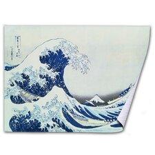 'The Great Kanagawa Wave' by Katsushika Hokusai Painting Print on Canvas