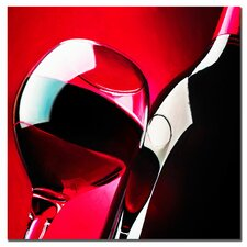 "<strong>Trademark Fine Art</strong> Red Red Wine by Roderick Stevens, Canvas Art - 24"" x 24"""