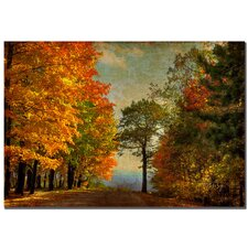 "<strong>Trademark Fine Art</strong> Autumn on the Mountain by Lois Bryan, Canvas Art - 22""  x 32"""