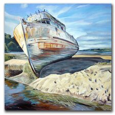 """Inverness Boat"" by Colleen Proppe Painting Print on Canvas"