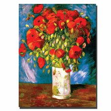 """Poppies"" by Vincent Van Gogh Painting Print on Canvas"