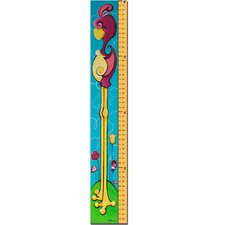 Flamingrow 6 Foot Growth Cart by Sylvia Masek Growth Chart