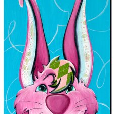"<strong>Trademark Fine Art</strong> Dressy Bunny by Sylvia Masek, Canvas Art - 19"" x 14"""