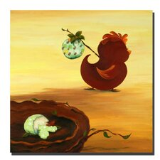 "<strong>Trademark Fine Art</strong> Leaving the Nest by Sylvia Masek, Canvas Art - 24"" x 24"""