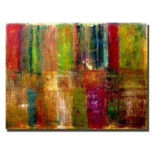 """""""Color Abstract"""" by Michelle Calkins Painting Print on Canvas"""