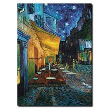 <strong>Trademark Fine Art</strong> Café Terrace by Vincent Van Gogh Canvas Art