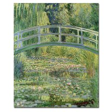 The Waterlily Pond by Claude Monet Canvas Art