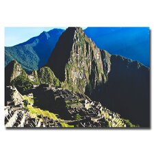 "<strong>Trademark Fine Art</strong> ""Machu Picchu"" Canvas Art"