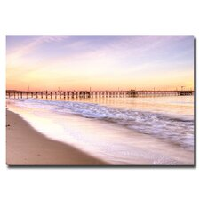 "<strong>Trademark Fine Art</strong> ""Santa Barbara"" Canvas Art"