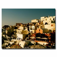 "<strong>Trademark Fine Art</strong> ""Santorini Sunset"" Canvas Art"