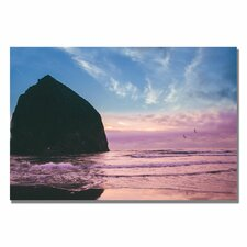 "<strong>Trademark Fine Art</strong> ""Canon Beach II"" Canvas Art"