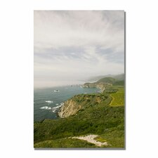 "<strong>Trademark Fine Art</strong> ""Big Sur Coast V"" Canvas Art"