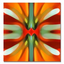 """Tree Light Symmetry"" Canvas"""