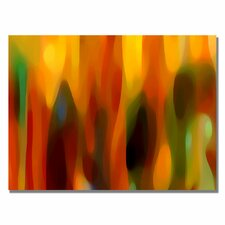 "<strong>Trademark Fine Art</strong> ""Forest Sunlight Horizontal"" Canvas Art"