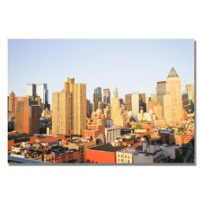 "<strong>Trademark Fine Art</strong> ""City III"" Canvas Art"