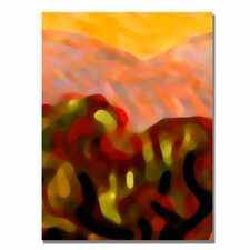 "<strong>Trademark Fine Art</strong> ""Desert Olive Trees"" Canvas Art"