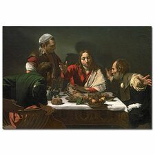 "<strong>Trademark Fine Art</strong> ""The Supper at Emmaus, 1601"" Canvas Art"
