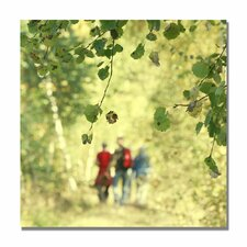 "<strong>Trademark Fine Art</strong> ""A Walk to Remember"" Canvas Art"
