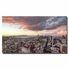 "<strong>Trademark Fine Art</strong> ""SF High Rise"" Canvas Art"