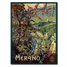 "<strong>Trademark Fine Art</strong> ""Merano, 1926"" Canvas Art"
