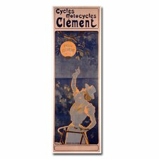 "<strong>Trademark Fine Art</strong> ""Cycles Clement, 1895"" Canvas Art"