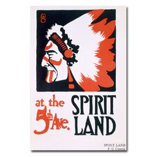 "<strong>Trademark Fine Art</strong> ""Spirit Land"" Canvas Art"