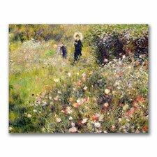 """Summer Landscape"" by Pierre Renoir Painting Print on Canvas"