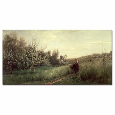 "<strong>Trademark Fine Art</strong> ""Spring, 1857"" Canvas Art"