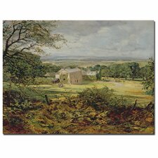 "<strong>Trademark Fine Art</strong> ""English Landscape"" Canvas Art"