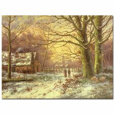 "<strong>Trademark Fine Art</strong> ""South Side of Rydal Water"" Canvas Art"