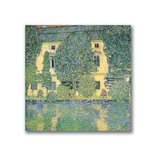 "<strong>Trademark Fine Art</strong> ""The Schloss Kammer on the Atterse"" Canvas Art"