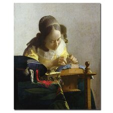 "<strong>Trademark Fine Art</strong> ""The Lacemaker, 1669-70"" Canvas Art"