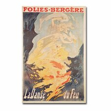 "<strong>Trademark Fine Art</strong> ""La Danse du Feu, 1897"" Canvas Art"