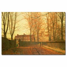 "<strong>Trademark Fine Art</strong> ""Going to Church, 1880"" Canvas Art"