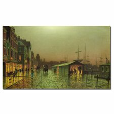 """Liverpool Docks"" Canvas Art"