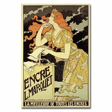"<strong>Trademark Fine Art</strong> ""Marquet Ink, 1892"" Canvas Art"