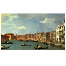 "<strong>Trademark Fine Art</strong> ""Canal of Santa Ciara Venice"" Canvas Art"