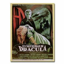 "<strong>Trademark Fine Art</strong> ""The Horror of Dracula"" Canvas Art"