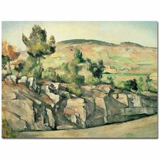 """Hillside in Provence, 1886"" by Paul Cezanne Painting Print on Canvas"