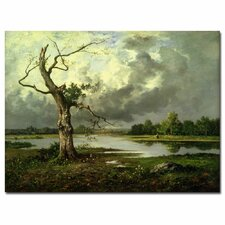"<strong>Trademark Fine Art</strong> ""French River Landscape"" Canvas Art"