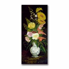 """Vase of Flowers"" Canvas Art"
