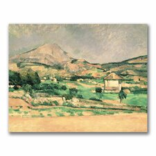 """Montagne Sainte-Victoire, 1882-85"" Canvas Art"