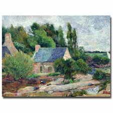 "<strong>Trademark Fine Art</strong> ""Washerwomen at Pont-Aven, 1886"" Canvas Art"