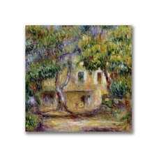 "<strong>Trademark Fine Art</strong> ""The Farm at Les Collettes"" Canvas Art"