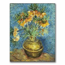 """Crown Imperial Fritillaries"" by Vincent Van Gogh Painting Print on Canvas"