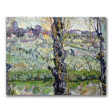 """View of Arles"" by Vincent Van Gogh Painting Print on Canvas"
