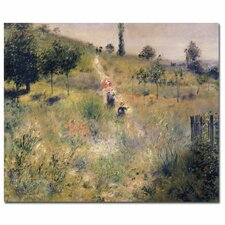 "<strong>Trademark Fine Art</strong> ""The Path Through the Long Grass, 1875"" Canvas Art"